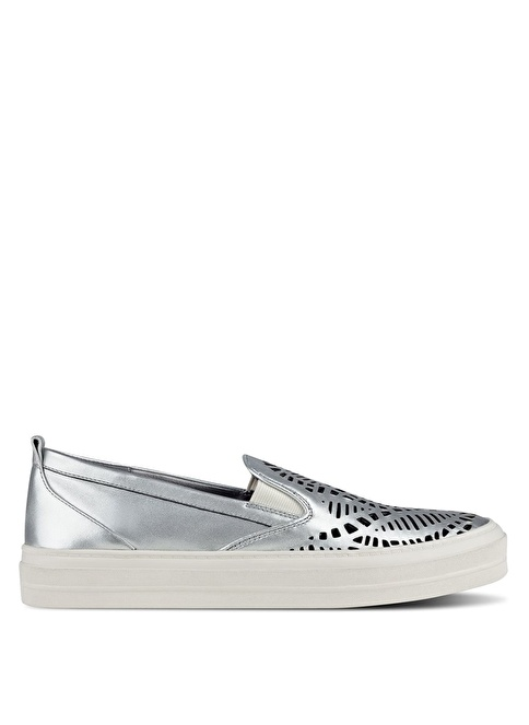 Nine West %100 Deri Lifestyle Ayakkabı Gümüş